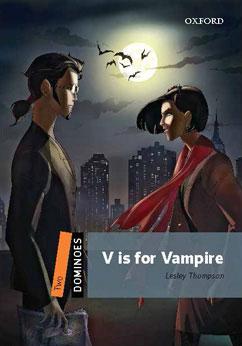 Cover for V is for Vampire