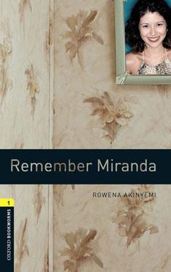 Cover for Remember Miranda