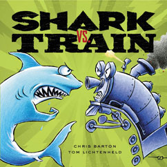 Cover for Shark vs. Train