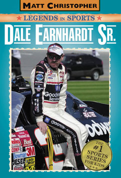 Cover for Dale Earnhardt Sr.: Matt Christopher Legends in Sports