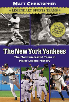 Cover for The New York Yankees: Legendary Sports Teams