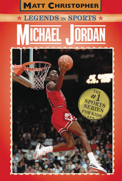 Cover for Michael Jordan: Legends in Sports