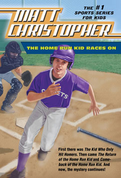 Cover for The Home Run Kid Races On