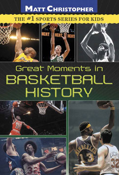 Cover for Great Moments in Basketball History