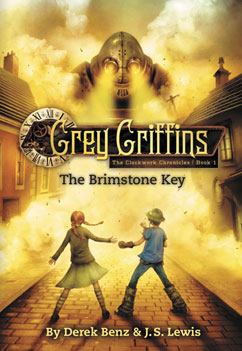 Cover for Grey Griffins: The Brimstone Key