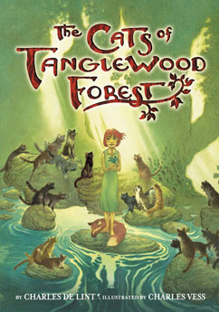 Cover for The Cats of Tanglewood Forest