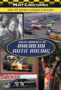 Cover for Great Moments in American Auto Racing