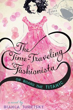Cover for The Time-Traveling Fashionista On Board the Titanic