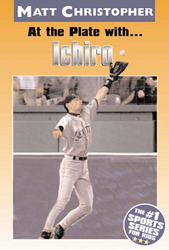 Cover for At the Plate with...Ichiro