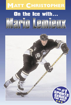 Cover for On the Ice with...Mario Lemieux