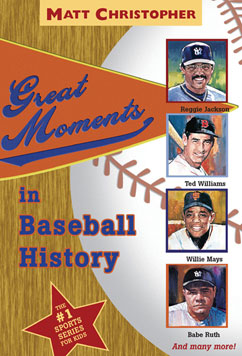 Cover for Great Moments in Baseball History