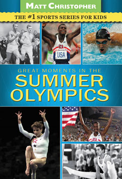 Cover for Great Moments in the Summer Olympics