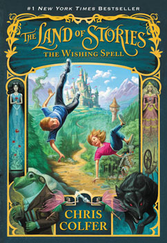 Cover for The Land of Stories: The Wishing Spell