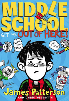 Cover for Middle School: Get Me Out of Here!