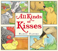Cover for All Kinds of Kisses