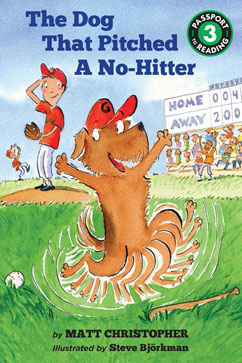 Cover for The Dog That Pitched a No-Hitter