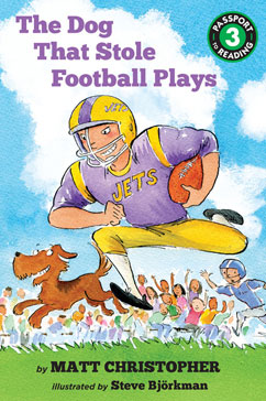Cover for The Dog That Stole Football Plays