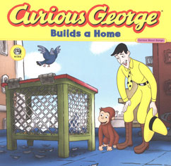 Cover for Curious George Builds a Home