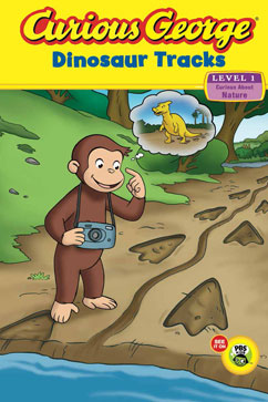 Cover for Curious George Dinosaur Tracks