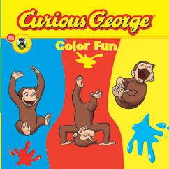 Cover for Curious George Color Fun