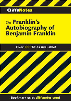 Cover for Franklin's The Autobiography of Benjamin Franklin