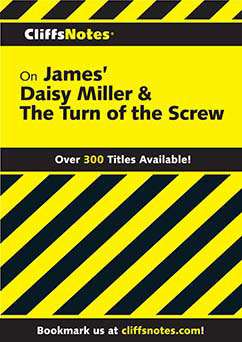 Cover for James' Daisy Miller & The Turn of the Screw