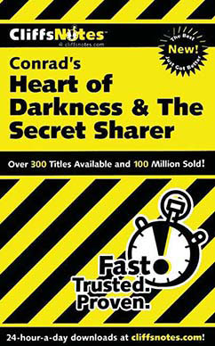 Cover for Conrad's Heart of Darkness & The Secret Sharer