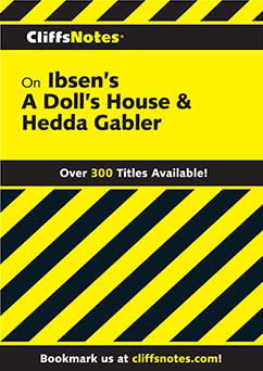 Cover for Ibsen's Plays I: A Doll's House & Hedda Gabler