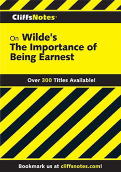 Cover for Wilde's The Importance of Being Earnes