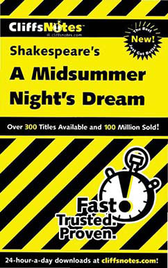 Cover for Shakespeare's A Midsummer Night's Dream