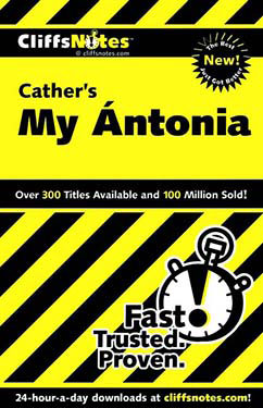 Cover for Cather's My Antonia