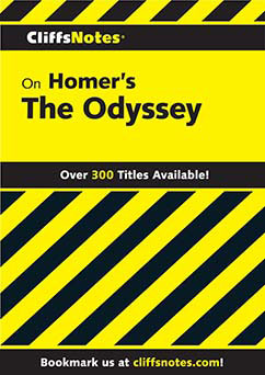 Cover for Homer's Odyssey