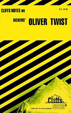 Cover for Dickens' Oliver Twist