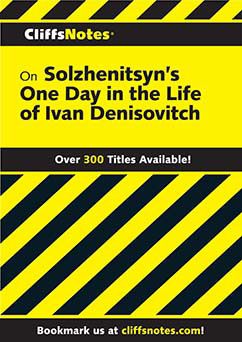 Cover for Solzhenitsyn's One Day in the Life of Ivan Denisovich