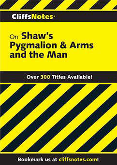Cover for Shaw's Pygmalion & Arms and the Man