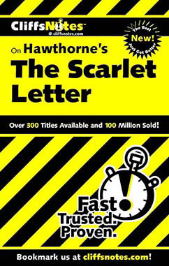 Cover for Hawthorne's The Scarlet Letter