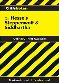 Cover for Hesse's Steppenwolf & Siddhartha