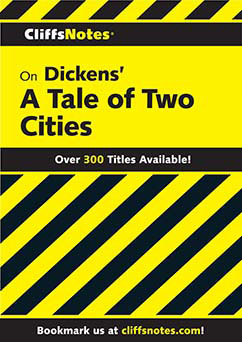 Cover for Dickens' A Tale of Two Cities