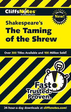 Cover for Shakespeare's The Taming of the Shrew