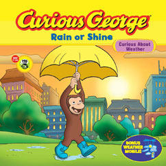 Cover for Curious George Rain or Shine