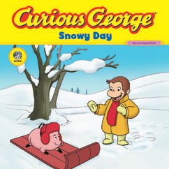 Cover for Curious George Snowy Day