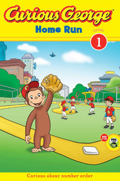 Cover for Curious George Home Run