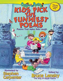 Cover for Kids Pick the Funniest Poems