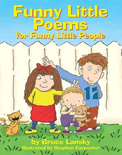 Cover for Funny Little Poems for Funny Little People