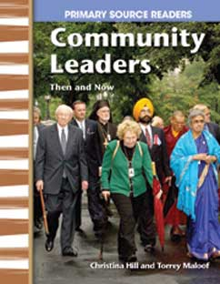 Cover for Community Leaders Then and Now