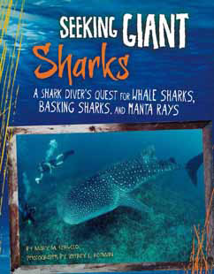 Cover for A Shark Diver's Quest for Whale Sharks, Basking Sharks, and Manta Rays