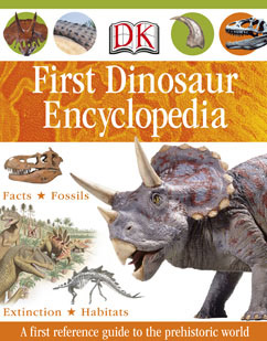 Cover for First Dinosaur Encyclopedia