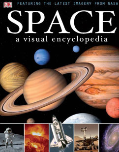 Cover for Space: A Visual Encyclopedia