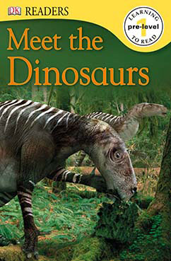 Cover for Meet the Dinosaurs