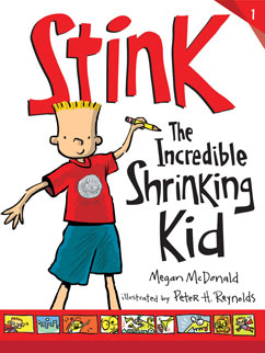 Cover for Stink: The Incredible Shrinking Kid